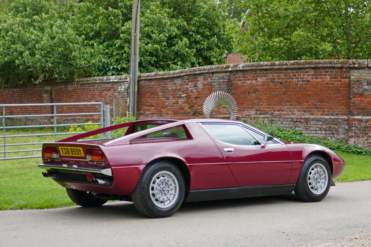 McGrath Maserati   1981 Maserati Merak SS (RHD)